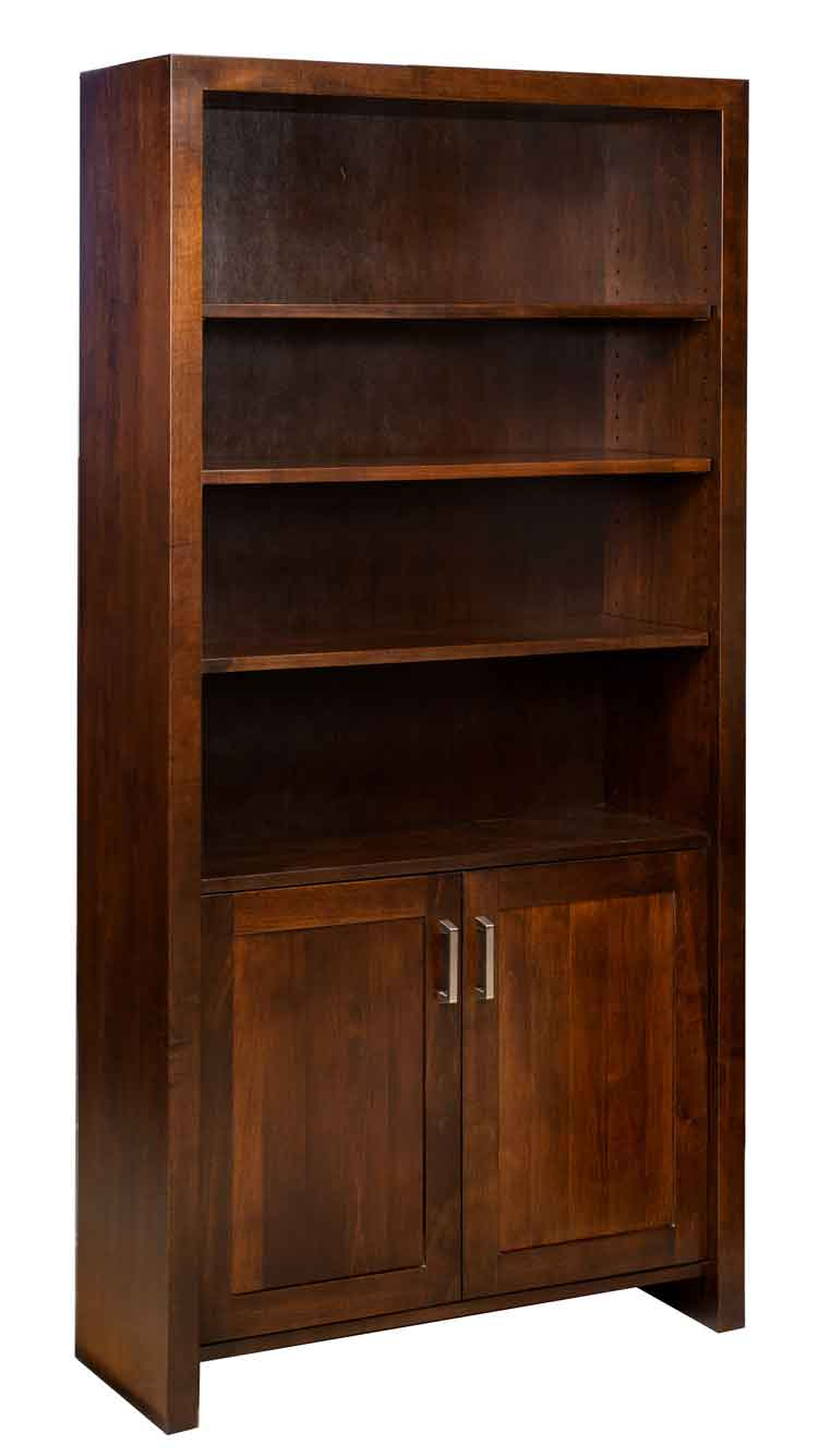 Amish Tempo Bookcase with Doors